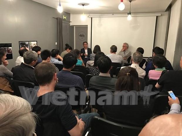 Efectuan seminario y proyeccion de documental sobre Mar del Este en Paris hinh anh 1