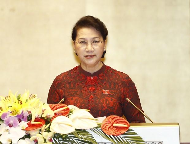 Inauguran tercer periodo de sesiones del Parlamento vietnamita hinh anh 1
