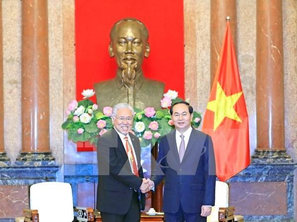 Vietnam e Indonesia se aprestan a elevar intercambio comercial a 10 mil millones de dolares hinh anh 1