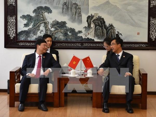 Intercambio juvenil robustece relaciones Vietnam-China hinh anh 1