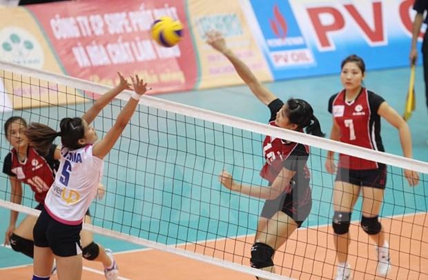 Vietnam gana medalla de bronce en Torneo femenino de Voleibol de Asia hinh anh 1