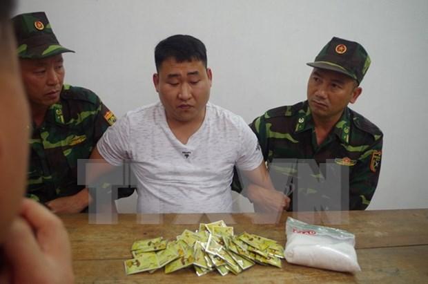 Vietnam detiene a un narcotraficante extranjero en provincia fronteriza hinh anh 1
