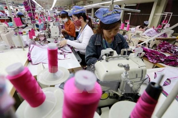 Registran crecimiento de exportaciones textiles de Vietnam hinh anh 1