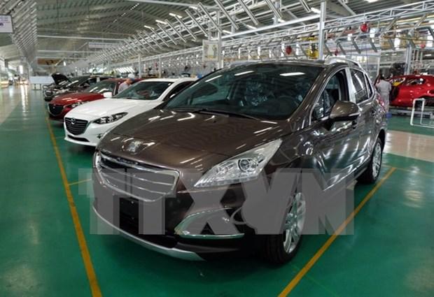 Vietnam: Importacion de automoviles se reduce 38 por ciento hinh anh 1