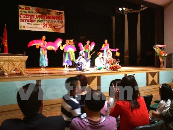 Festival cultural robustece lazos Vietnam- Republica Checa hinh anh 1