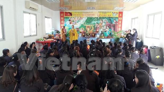 Comunidad vietnamita en Angola celebra el Dia de Vesak hinh anh 1