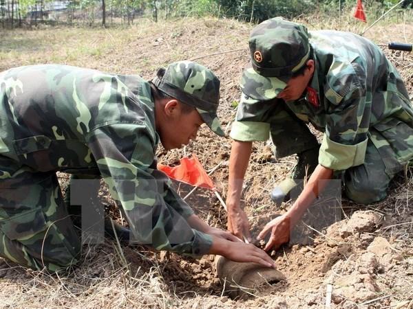 Desactivan bombas remanentes de la guerra en Vietnam hinh anh 1
