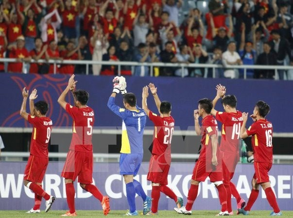 Impresionante debut de Vietnam en Copa Mundial sub-20 de futbol hinh anh 1