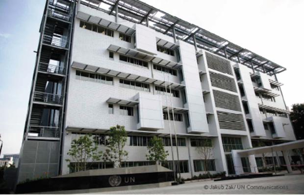 Casa de Naciones Unidas en Vietnam recibe certificado de construccion verde hinh anh 1