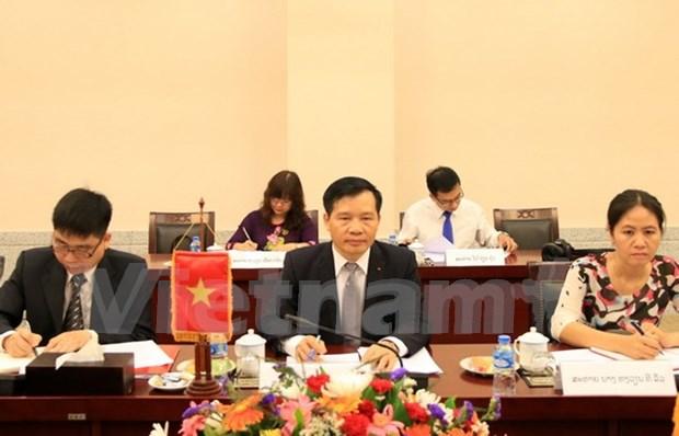 Vietnam y Laos intensifican cooperacion partidista hinh anh 1