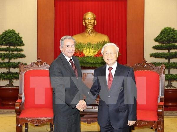 Resaltan nexos entre Partidos Comunistas de Vietnam y Cuba hinh anh 1
