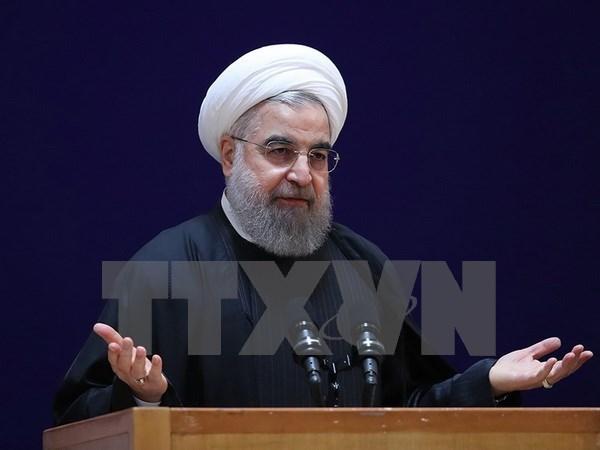 Vietnam felicita al presidente reelecto de Iran hinh anh 1