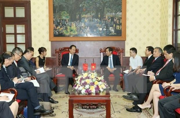 Buscan profundizar lazos entre organos periodisticos oficiales de Vietnam y China hinh anh 1