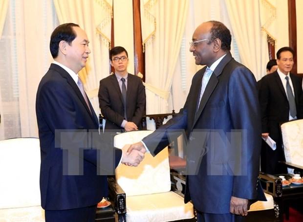 Presidente de Vietnam destaca potencialidad de cooperacion con Sudan hinh anh 1