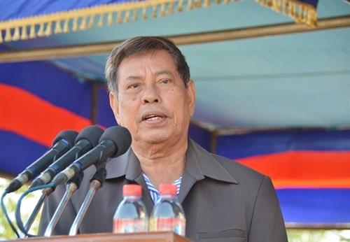 Dirigente del Frente de Solidaridad para el Desarrollo de Camboya visita Vietnam hinh anh 1