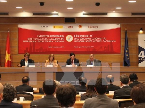 Visita del vicepremier vietnamita a Espana, un hito en relaciones bilaterales hinh anh 1