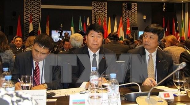 Vietnam participa en reunion de altos dirigentes de seguridad en Rusia hinh anh 1