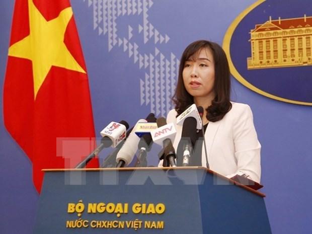 Vietnam rechaza ejercicios con fuego real de Taiwan en Ba Binh hinh anh 1