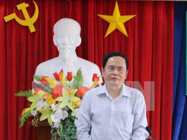 Sesionara en Hanoi conferencia de organizaciones de masas de Vietnam, Laos y Camboya hinh anh 1