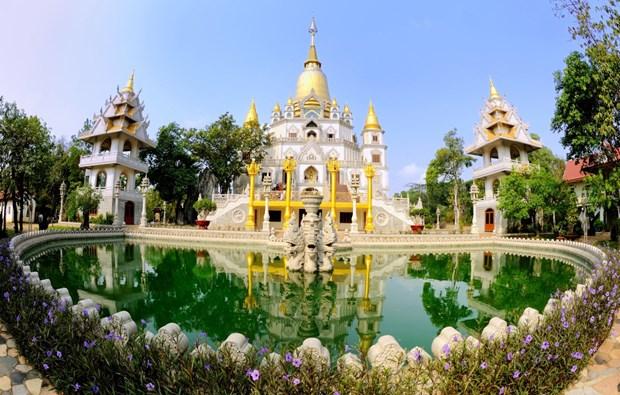 Pagoda Buu Long, destino atractivo de Ciudad Ho Chi Minh hinh anh 1
