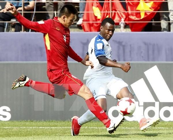 Vietnam se despide de Copa Mundial sub-20 de futbol con derrota ante Honduras hinh anh 1