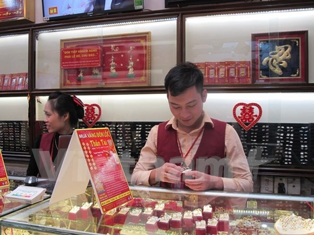 Vietnam ocupa octavo lugar entre mayores consumidores de oro del mundo hinh anh 1