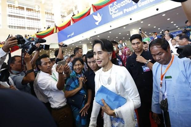 Myanmar: Conferencia de paz se extiende hasta hoy hinh anh 1