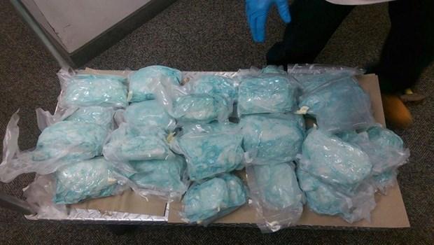 China y Filipinas incautan 604 kilos de metanfetamina hinh anh 1