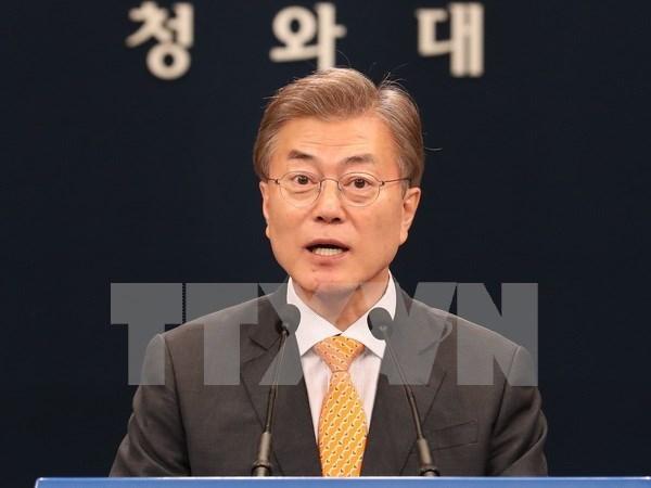 Presidente sudcoreano destaca importancia de nexos con ASEAN y Rusia hinh anh 1