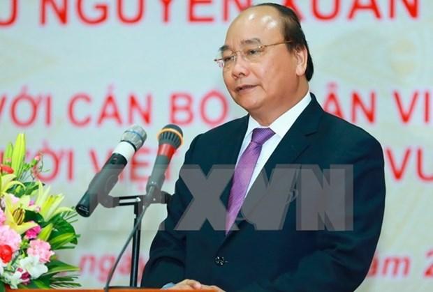 Visita a EE.UU. del premier vietnamita, ocasion para fomentar lazos comerciales bilaterales hinh anh 1