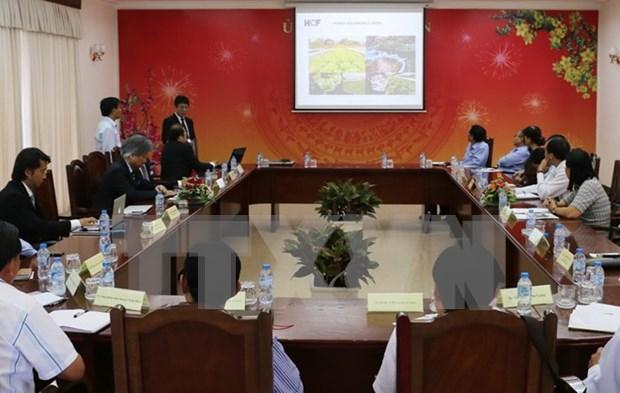 Grupo japones desea invertir en agricultura organica en provincia survietnamita hinh anh 1