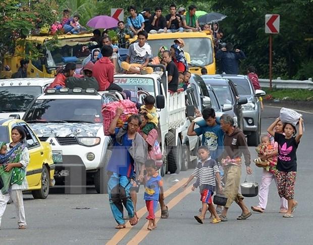Indonesia busca repatriar a ciudadanos atrapados en Filipinas hinh anh 1