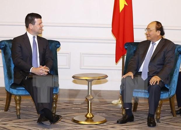 Premier vietnamita respalda cooperacion entre NASDAQ y VNG hinh anh 1