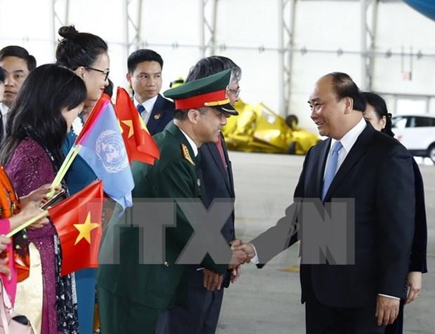 Premier vietnamita inicia visita a Estados Unidos hinh anh 1