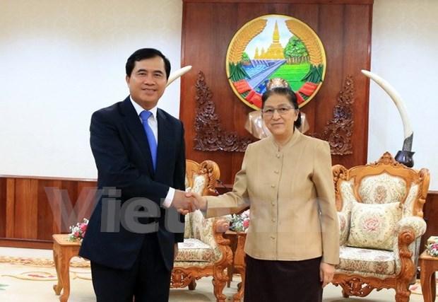 Vietnam impulsa preparativos para construccion de edificio parlamentario de Laos hinh anh 1
