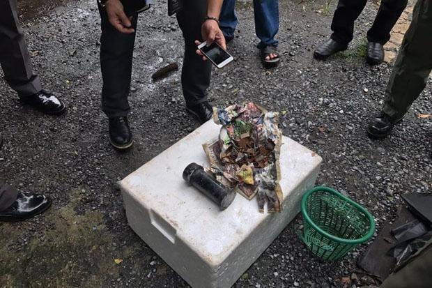 Encuentran bomba cerca de estacion de metro en Bangkok hinh anh 1