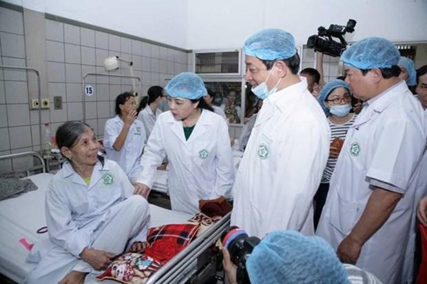 Ministra vietnamita pide acelerar investigacion sobre causa del incidente medico en Hoa Binh hinh anh 1