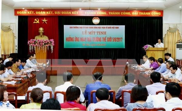 Vietnam se empena en mejorar la proteccion del medioambiente hinh anh 1