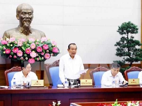 Vietnam reporta alto indice de reformas administrativas hinh anh 1