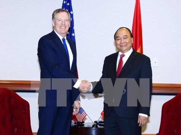 Vietnam considera importante la cooperacion economica con Estados Unidos hinh anh 1