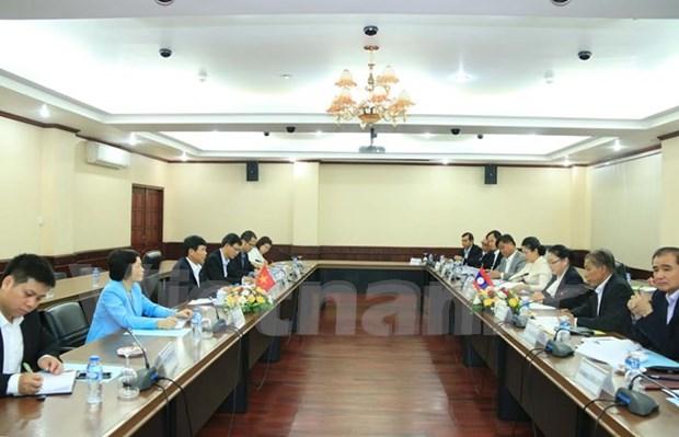 Vietnam y Laos celebran segunda consulta politica hinh anh 1