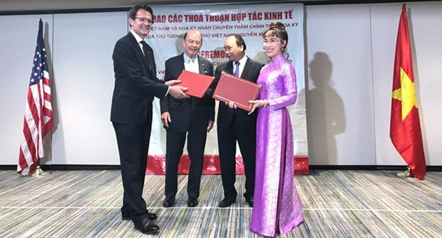 Vietjet firma contratos millonarios con empresas estadounidenses hinh anh 1
