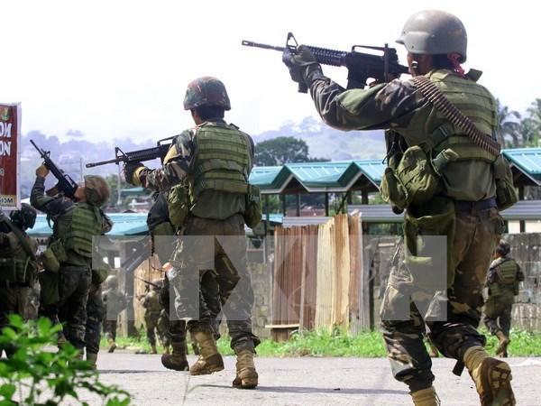 Mueren soldados filipinos por fuego amigo hinh anh 1