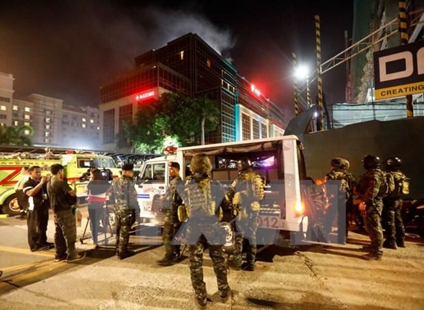 Ataque en hotel en Manila no es una accion terrorista, afirma policia filipina hinh anh 1
