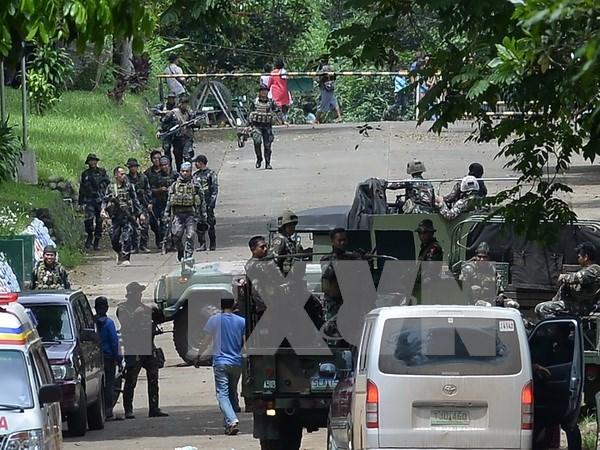 Presidente filipino anuncia que revuelta en Mindanao es obra de Estado Islamico hinh anh 1