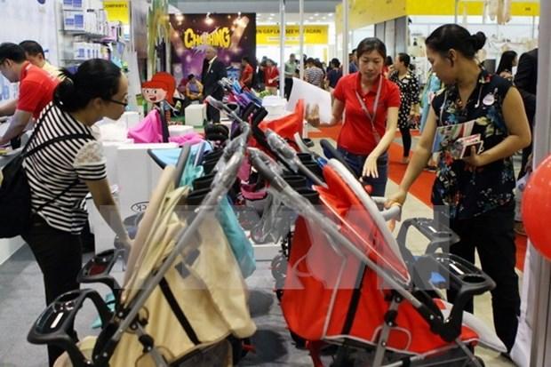 En Ciudad Ho Chi Minh exposicion internacional de ventas minoristas y franquicia hinh anh 1