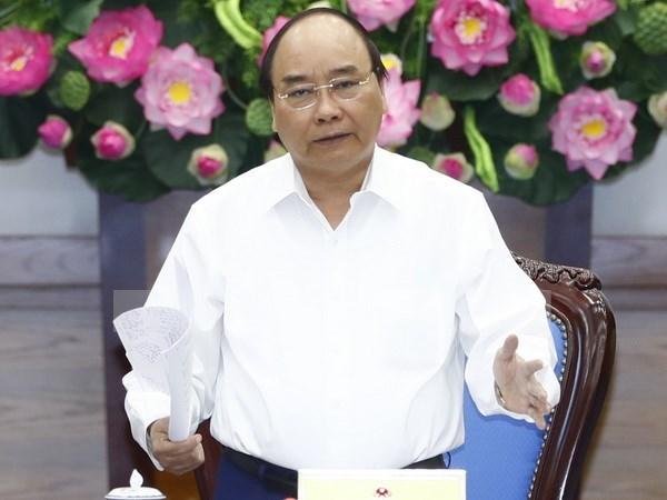 Premier vietnamita pide aumentar asistencia a empresas hinh anh 1