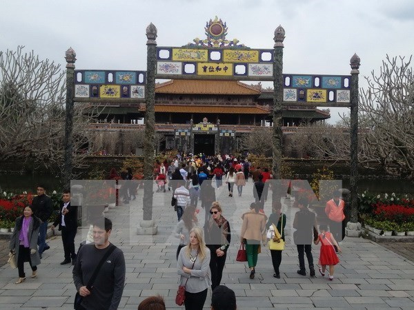 Thua Thien-Hue goza de aumento de turistas hinh anh 1