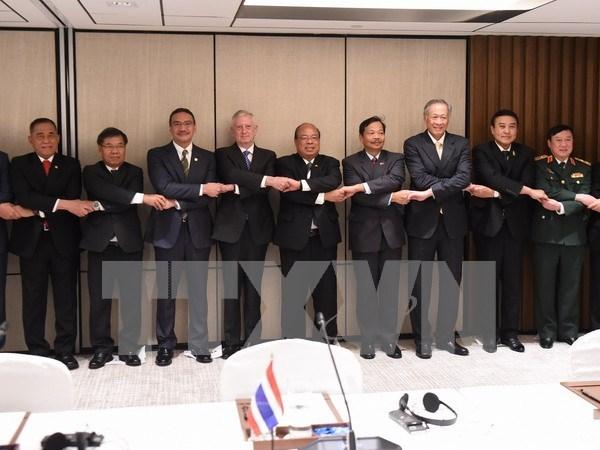 Paises del Sudeste Asiatico unen manos para encarar retos regionales en Shangri-La hinh anh 1