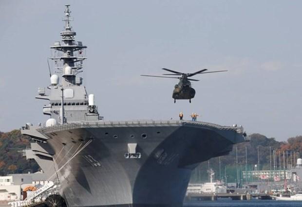 Barcos japoneses visitan Filipinas hinh anh 1